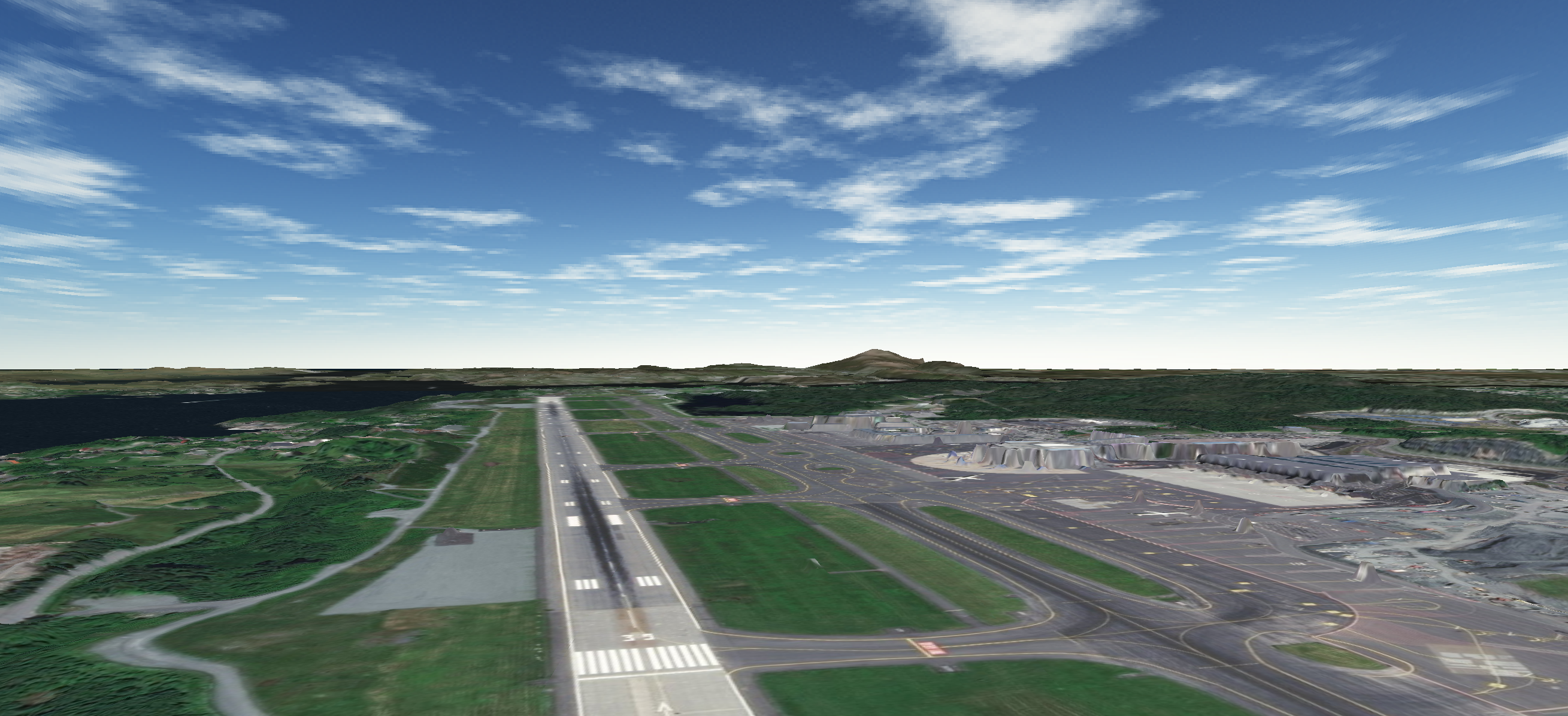 Bergen 3D NML and Global Aviation Surface Data