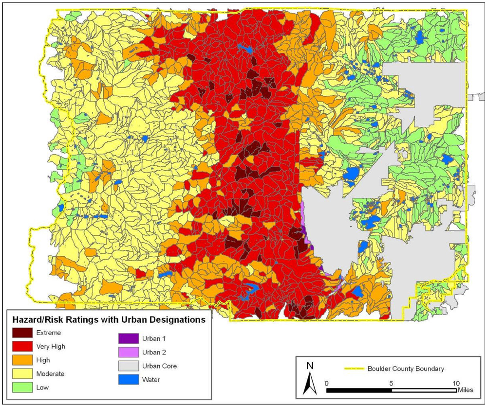 No-HARM wildfire risk model