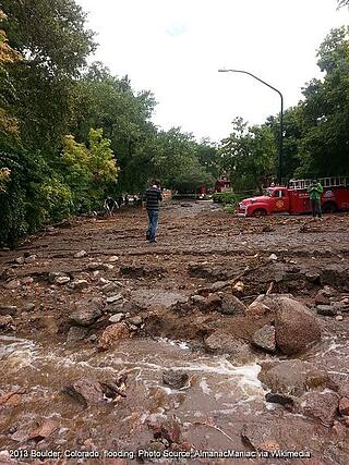 Boulder CO Flood
