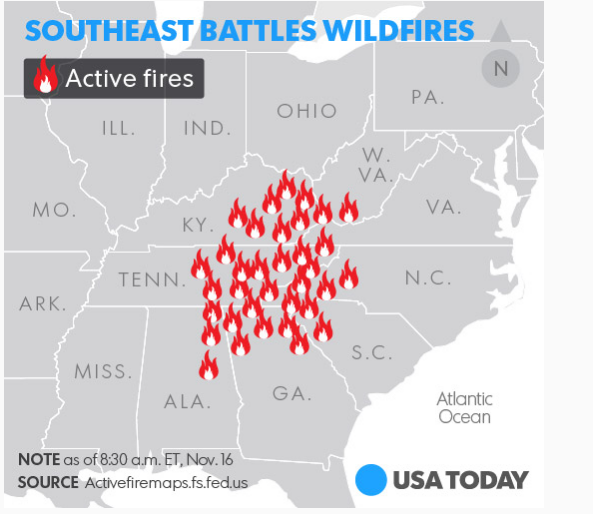 Southeast Battles Wildfires.png