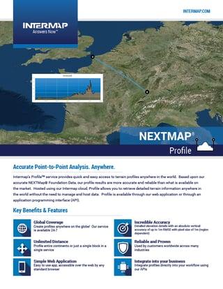 NEXTMap Profile Data Sheet