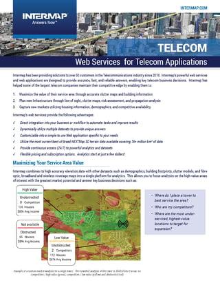 Web Services - Telecom Applications