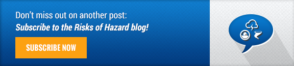Subscribe to Risks of Hazard Blog!