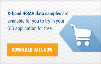 X-band IFSAR data samples